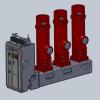 VSG200-12KV/24KV Indoor High Voltage Side Mounted Vacuum Circuit Breaker