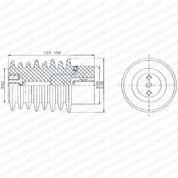 Brown Transducer for Circuit Breaker LYC120 12KV