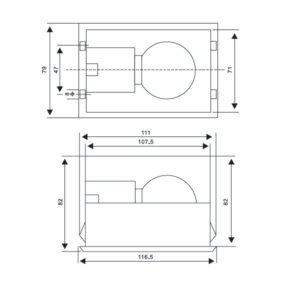 CM-1-Cabinet-lighting-lamp-drawing