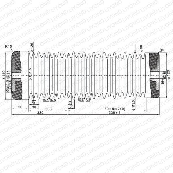 China Insulation with Epoxy Resin for Circuit Breaker LYC141