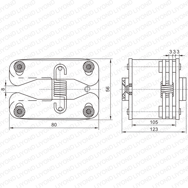 LYA407 GC6 1600A contact finger for VCB
