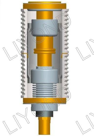 drawing Vacuum interrupter for circuit breaker