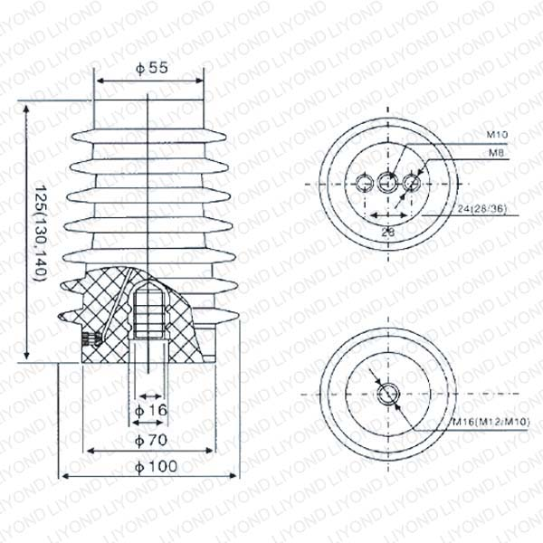 Electric Sensor with Epoxy Resin for ABB Switchgear LYC121