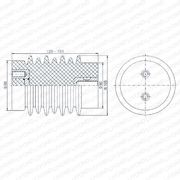Epoxy Insulator for Circuit Breaker LYC113 12KV