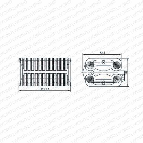 LYA506-GC7 1600A flat contact