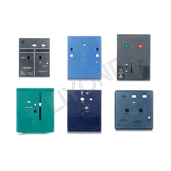 Medium and high voltage circuit breaker indicate panel