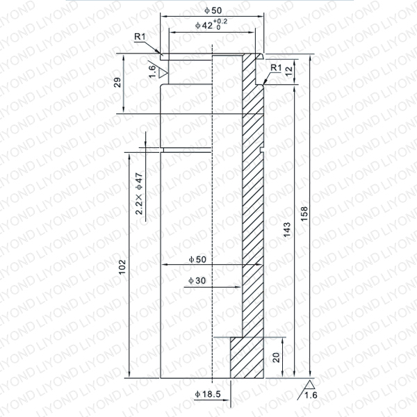 LYB010 1250A contact arm for vacuum circuit breaker