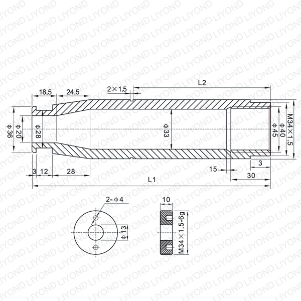 LYB208-LYB211 630A isolating contact arm for vacuum circuit breaker