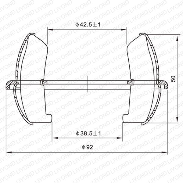 GC4-1250A contact fingers of vacuum circuit breaker LYA204