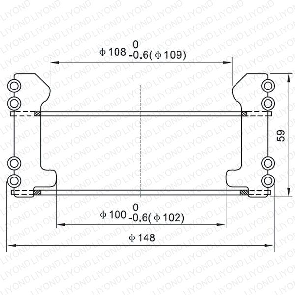VCB finger contactor LYA126