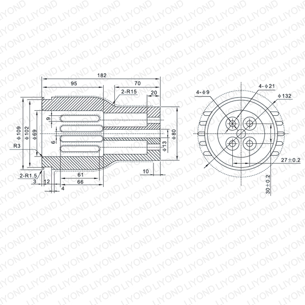 LYB260 VS1 4000A contact arm