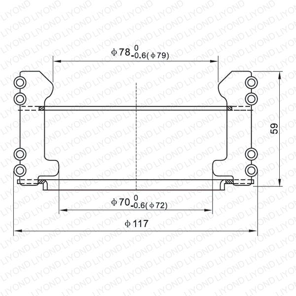 Circuit breaker contact LYA113