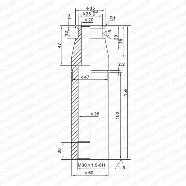 LYB009 Contact arm for vacuum circuit breaker