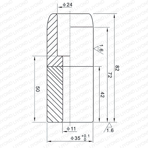 LYB007 Fixed contact for vacuum circuit breaker