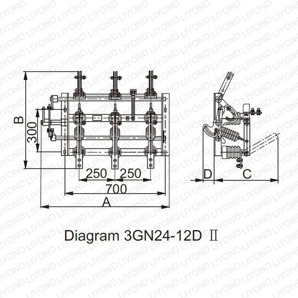Diagram 4 GN24-12DC Ⅱ