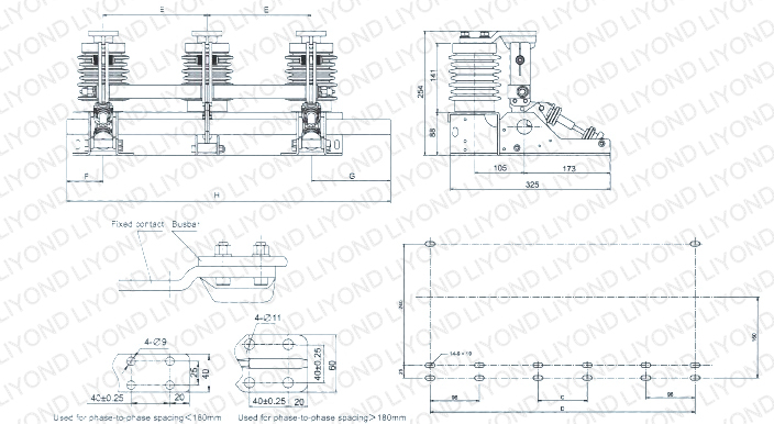 JN15- 12 type indoor AC high voltage earthing switch