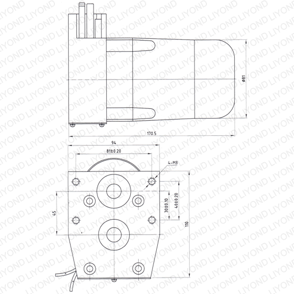 Ac Dc Motor For Outdoor Post Mounted Vacuum Circuit