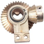 Bevel Helical Gear With Iron and zincing