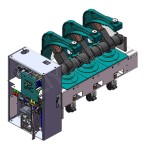 VGK-II-12 series indoor high voltage AC vacuum circuit breaker