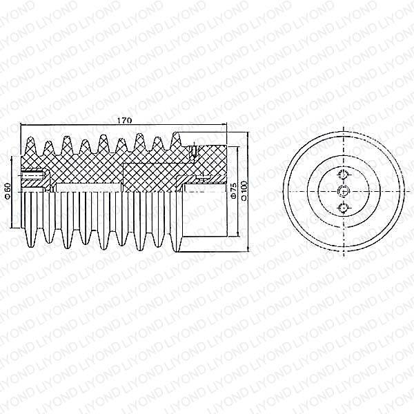 ABB Switchgear Sensor LYC123 with Epoxy Resin 12KV