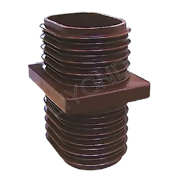 Brown Wall Bushing LYC147 with Epoxy Resin for High Voltage