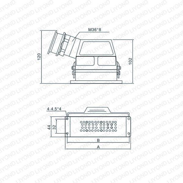 drawing CD-46 control socket for vacuum circuit breaker