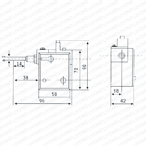 DSN-IY indoor electromagnetic lock for switchgear