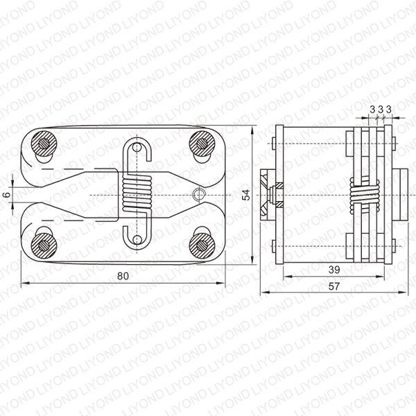 LYA403-GC6 630A spring flat contact for VCB