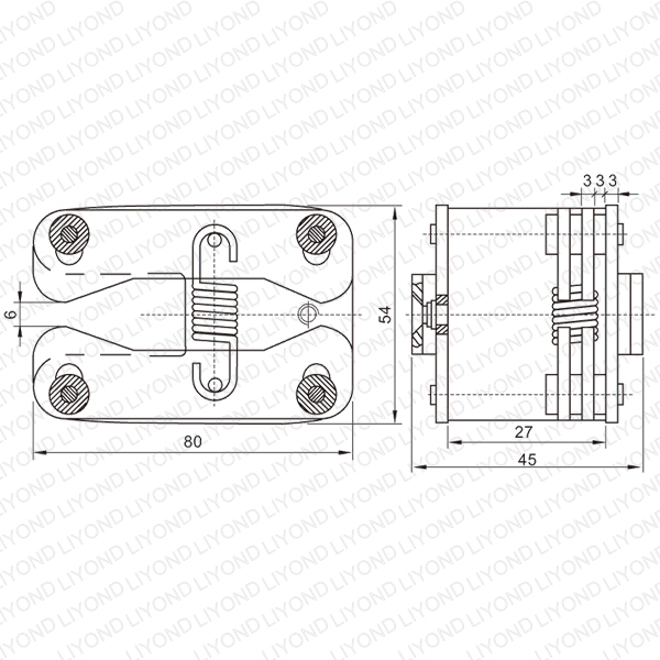 LYA404-GC6 10000A spring flat contact for VCB