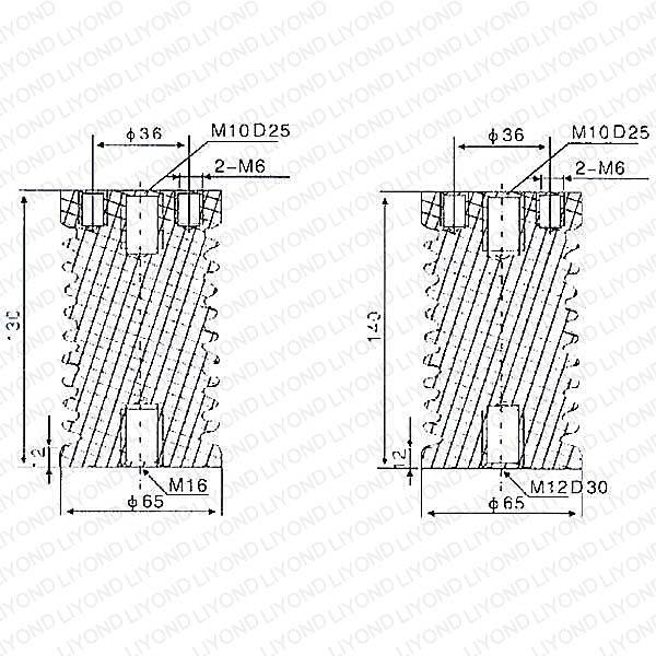 Epoxy Resin Post Insulator for Switchgear LYC102 12KV