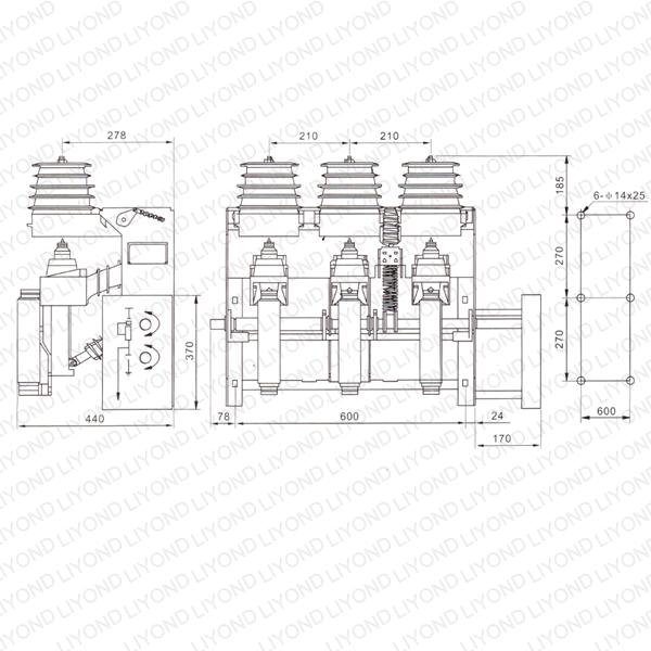 FKRN12-12D load switch