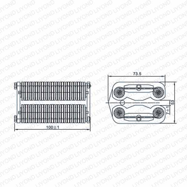 LYA505-GC7 1600A extension spring flat contact