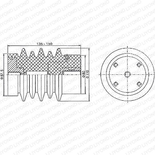 Pressure Transducer for Circuit Breaker LYC124 12KV