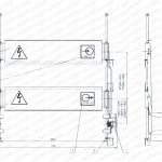 Shutter mechanism for switchgear 5XS.320.010