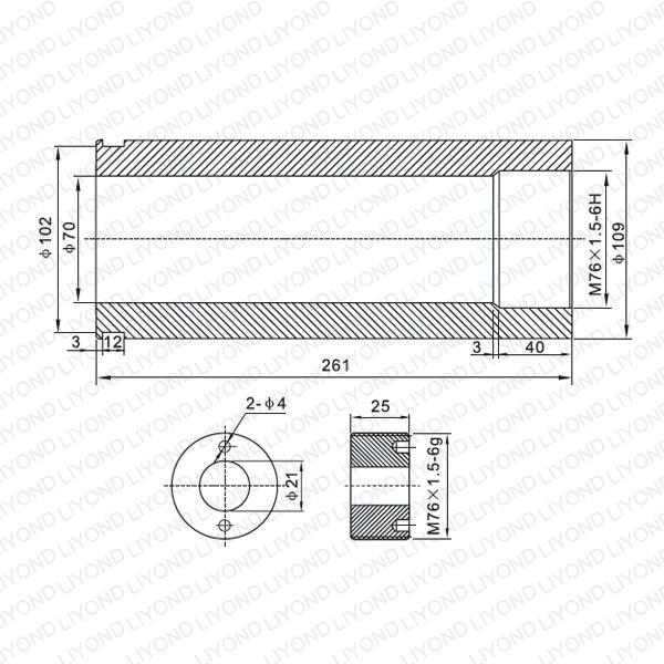 3150A contact arm LYB230-LYB233