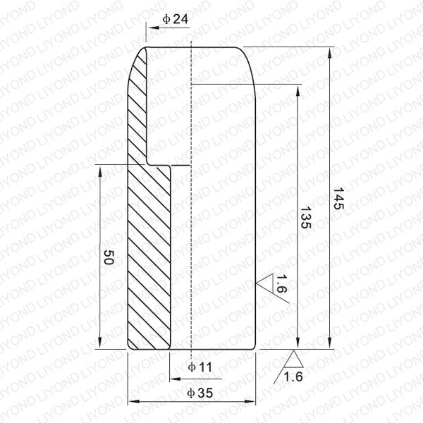 LYB117 630A vacuum contact for vacuum circuit breaker