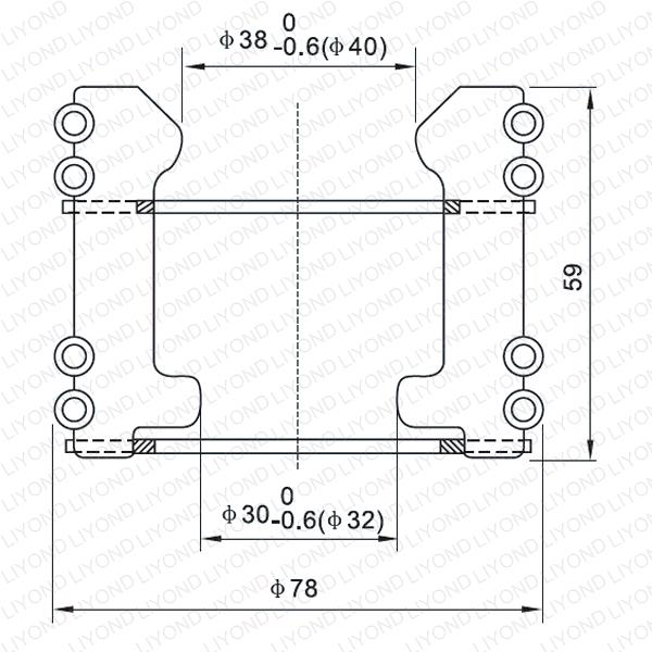 Female contact for vacuum circuit breaker LYA107