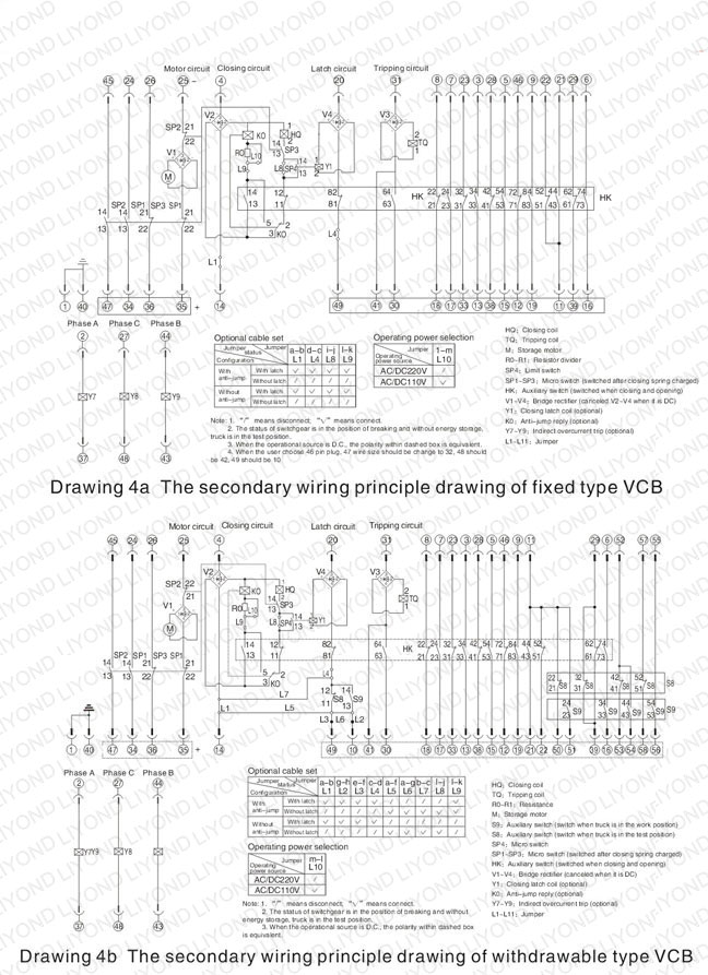 abb vfd panel wiring diagram ep-12 indoor high voltage vcb for switchgear - liyond ... #4