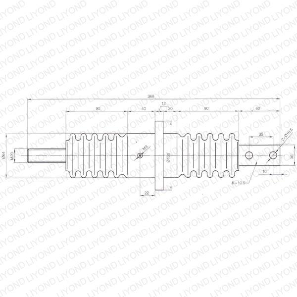 12kv bushing wiring son indoor switchgear lyc284 yueqing liyond