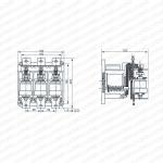 CKJ5-63,80,125,250,400,630A AC L.V. Vacuum Contactor10