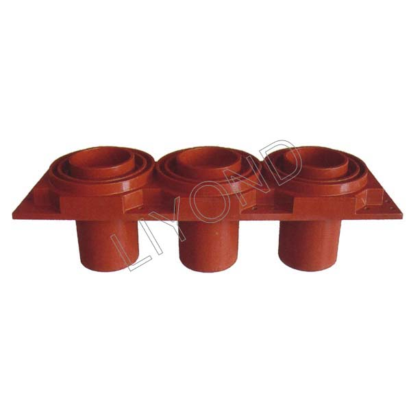 Coterminous spout epoxy resin contact box LYC245