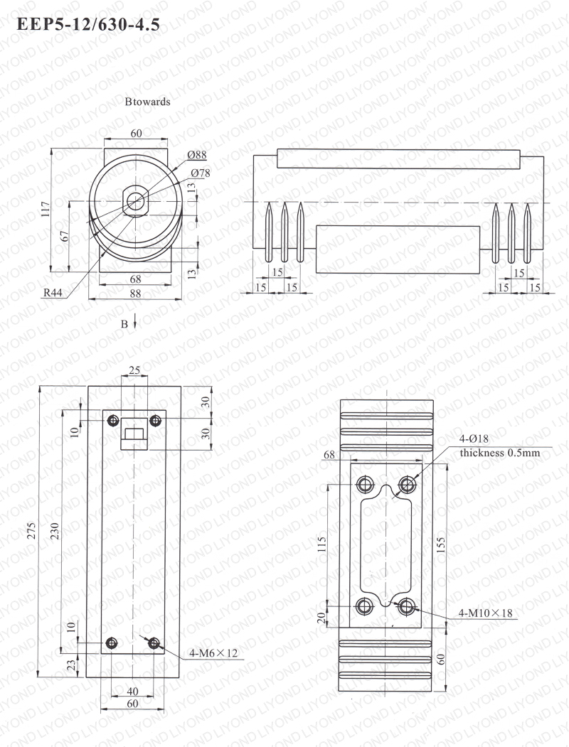 Solid Pole For Vacuum Circuit Breaker Eep5 12 630a 45 Yueqing Operating On Wiring Diagram Of