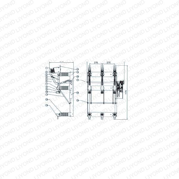 FN1-24 KV(12 KV)(RD) Aerogenic Load Switch-2