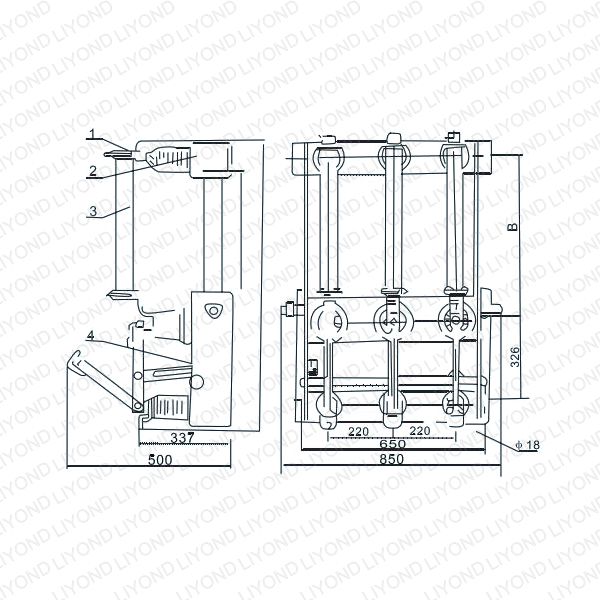 FN3-12KV Series Indoor H.V. Load Breaking Switch-4