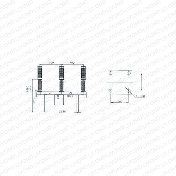 sf6 h v  circuit breaker