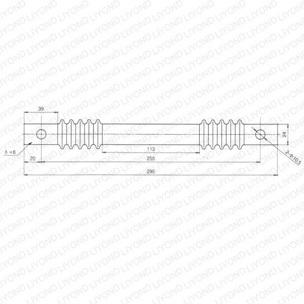 Radius bar epoxy resin HV switchgear LYC443