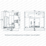 VSM-12 Series of Indoor High Voltage Vacuum Circuit Breaker-3