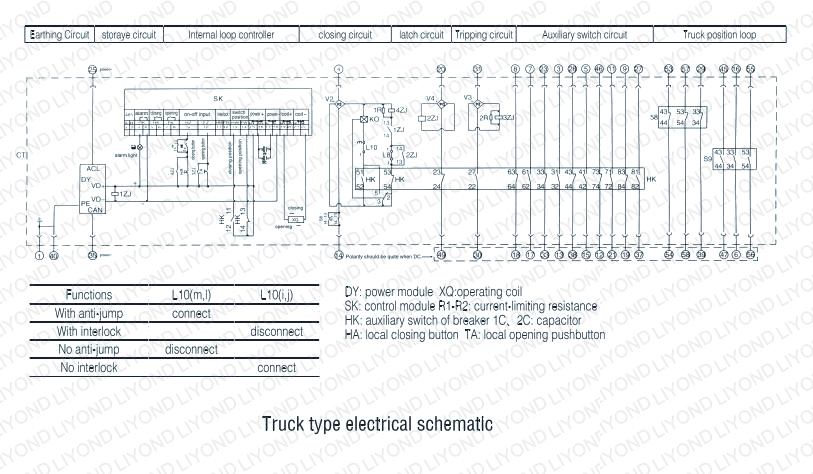 vacuum circuit breaker wiring diagram