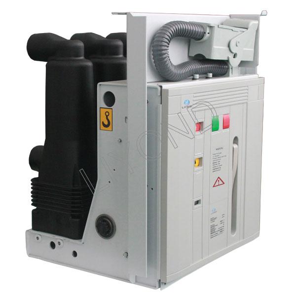 Indoor vacuum circuit breaker with nylon tube