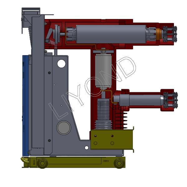 VZF(R)-12系列 - 中央安装的嵌入式极 - 真空 - 负载 - 断路 - 熔断器组合装置2